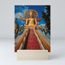 Big Buddha Samui Mini Art Print