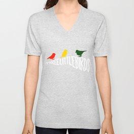 Three Little Birds Unisex V-Neck