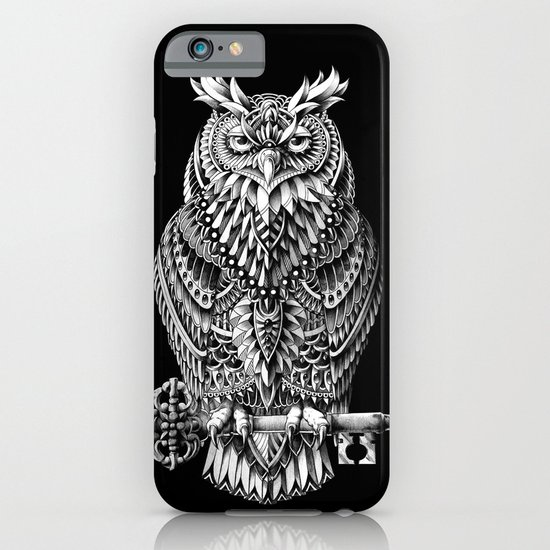 Great Horned Owl iPhone & iPod Case