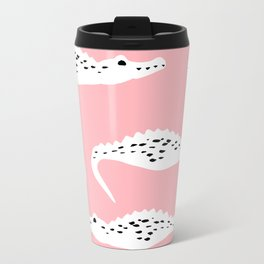 Crocodile Pattern Travel Mug