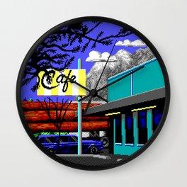 Enter Diner Wall Clock