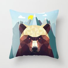 Bear Mountain  Throw Pillow