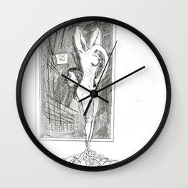 Fake past Wall Clock