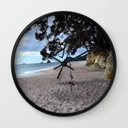 Relax at the Beach Wall Clock