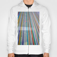 Colored Lines On The Wall Hoody