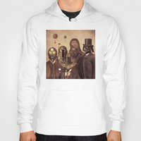 victorian Hoodies featuring Victorian Wars  - square format by Terry Fan