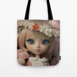 Innocent girl Tote Bag