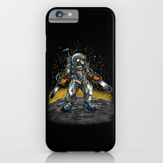 Texas Chainsaw Astronaut iPhone & iPod Case