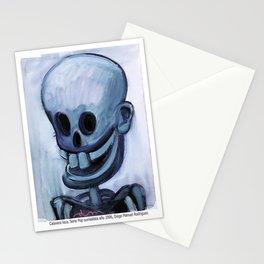 Calavera loca Stationery Cards