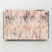 rose gold iPad Cases featuring Rose Gold Waves by Cat Coquillette