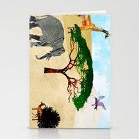 safari Stationery Cards featuring Safari by Design4u Studio