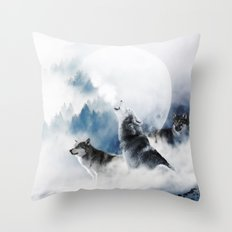 Ware Wolves #society6 #decor #buyart Throw Pillow