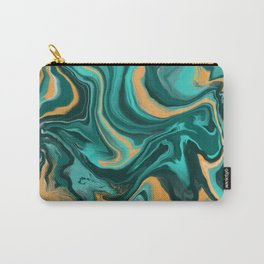 Digital Paint Pour Carry-All Pouch