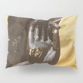Buddha Hand Illustration Pillow Sham