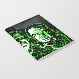 House of Monsters Phantom Frankenstein Dracula classic horror Notebook