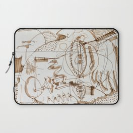 Boy And His Parrot Laptop Sleeve