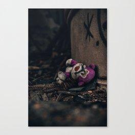 Lotso Bear Abandoned Shot Canvas Print