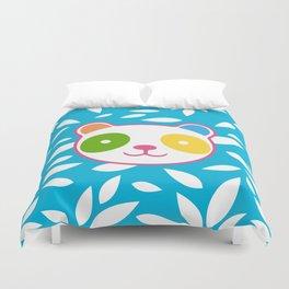 Rainbow Panda Duvet Cover