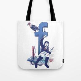 F book Tote Bag
