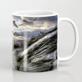 Autumn at Millstone Edge in the Peak District Coffee Mug