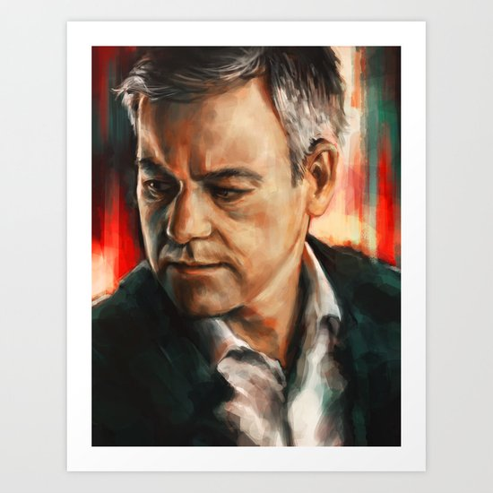 Greg Lestrade Art Print