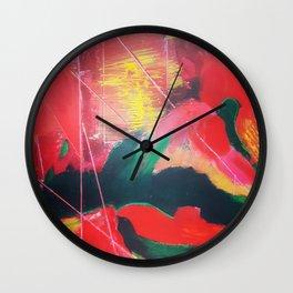 Fenêtre sur la campagne Wall Clock