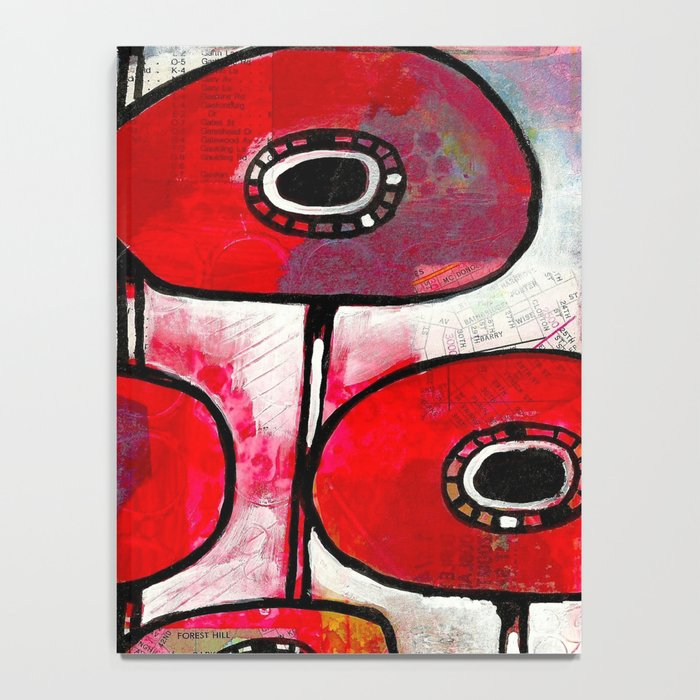 Poppies #4 Notebook