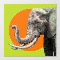 eric fan Canvas Prints featuring Wild 6 by Eric Fan & Garima Dhawan by Garima Dhawan