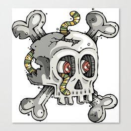 Paul the Skull Canvas Print