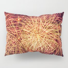 Art of the Fireworks Pillow Sham