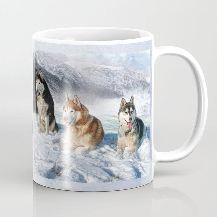 Alaskan Malamute Coffee Mug By Trudisimmonds Society6