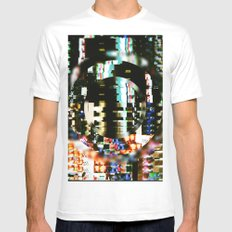 The Interference Mens Fitted Tee White SMALL