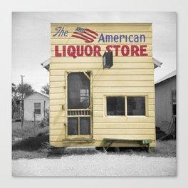 Vintage Liquor Store Canvas Print