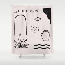 dreamscape II Shower Curtain