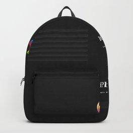 Luxury black vintage phone Backpack