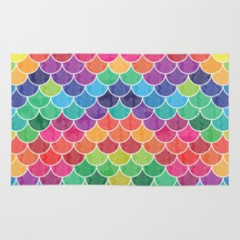 Watercolor Lovely Pattern VVXVI Rug