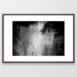 Let it drip Framed Art Print