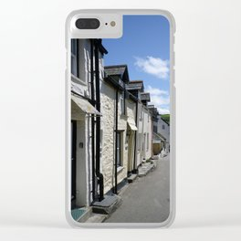 PORT ISAAC CORNWALL FORE STREET Clear iPhone Case