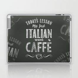 Italian Lessons / Coffee Laptop & iPad Skin