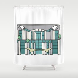 Chancellery in Berlin Shower Curtain