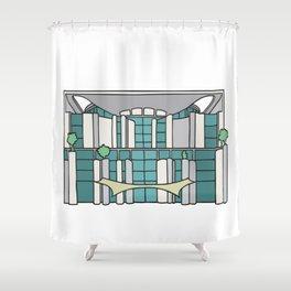 Chancellery in Berlin Shower Curtain
