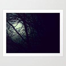 Through the Night Art Print