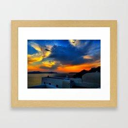 Santorini 28 Framed Art Print