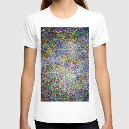 Ball of String Light painting T-shirt