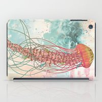 rose iPad Cases featuring Jellyfish by Mat Miller