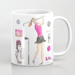 Golf Girl Coffee Mug