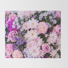 Bouquet Throw Blanket