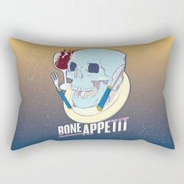 Skullture: Bone Appetit Rectangular Pillow