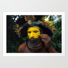 Papua New Guinea Adventure Art Print