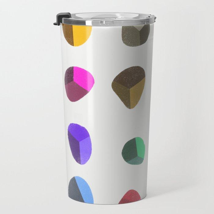 Painted Pebbles 2 Travel Mug